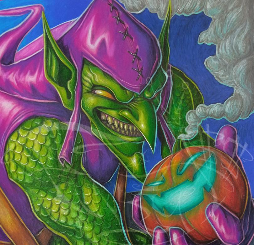Green Goblin in Prismacolor 1.jpg