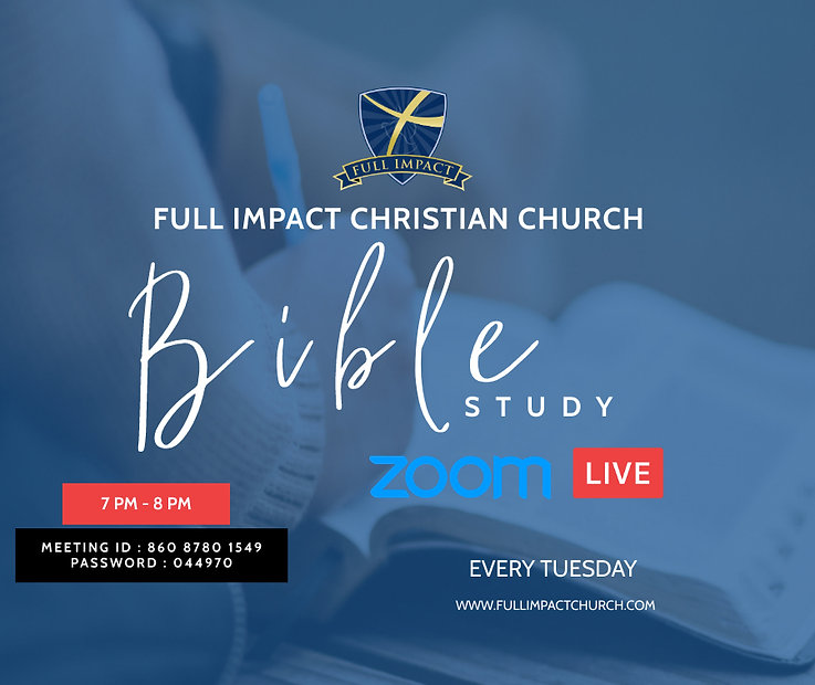 Copy of Copy of BIBLE STUDY FLYER - Made