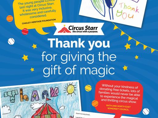 Circus Starr - Sponsorship