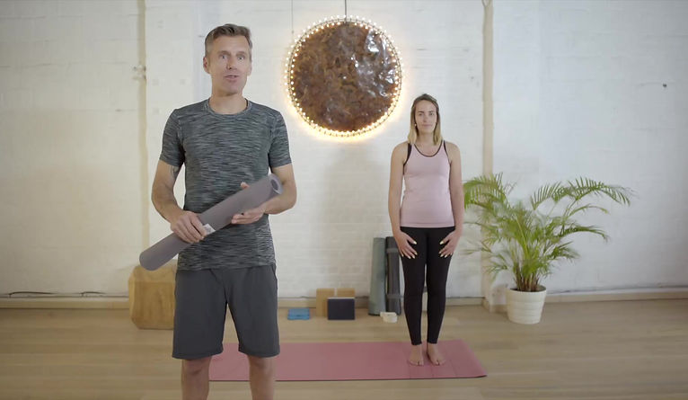 Decathlon instructional video for Yoga Props
