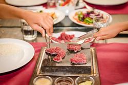 Bife na pedra / steak on the stone