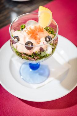 Cocktail de camarão / Shrimp cocktail