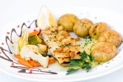 Bacalhau assado / Codfish