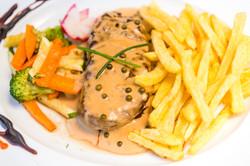Bife pimenta / Pepper sauce steak