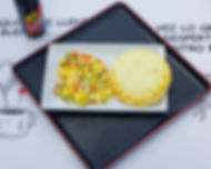 Colombian Bakery-Huevos Pericos con Arep