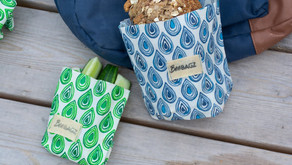 BeeBAGZ - bivokspapir i poseform - et miljøvennlig alternativ til plastposen.