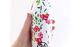 24Bottles - stilrene drikkeflasker i stål med stort fokus på bærekraft og miljø