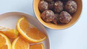Påskesnop: daddelkuler med appelsin