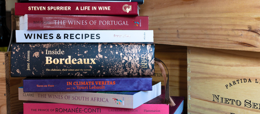 Wine books for Christmas