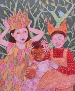Niños del bosque