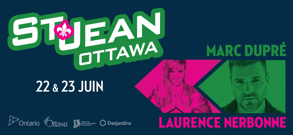 Billboard for the St-Jean's festival