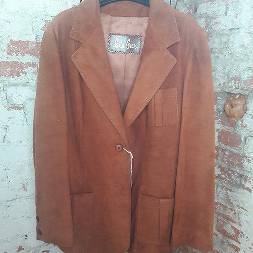 Napa y Ante Skin Gear Leather Suede coat/ jacket