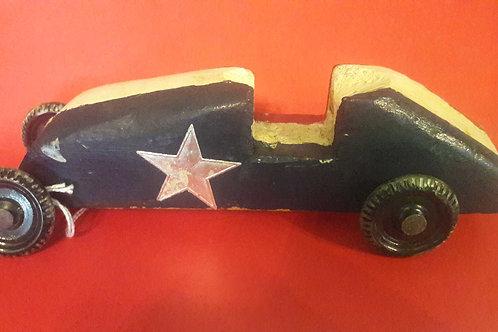 Vintage Wood Slot car Pinewood Derby