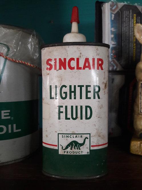 Sinclair Lighter Fluid Bottle jar can