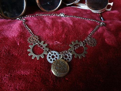 Locket 'n Gears Necklace