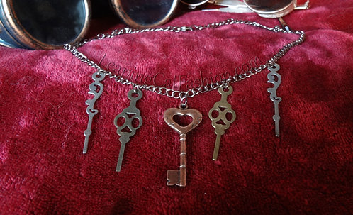 Key 'n Time Necklace