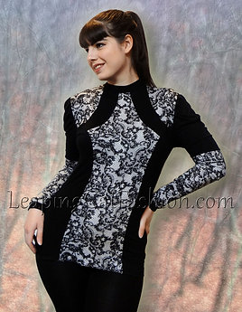 Long Sleeve Victorian Contour Shirt