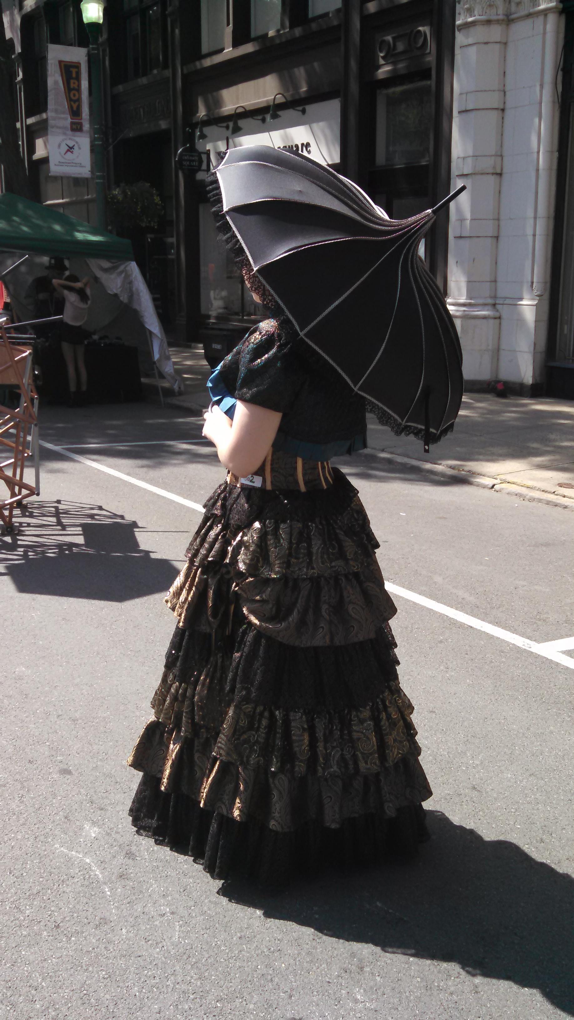 SteamPunk Summer Dress