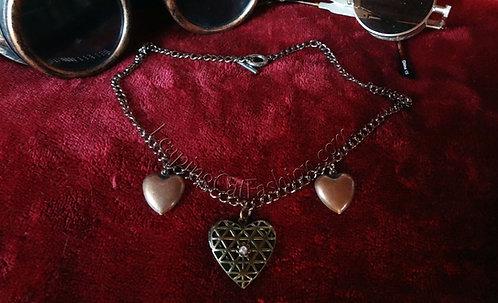 Heart Cage Locket Necklace