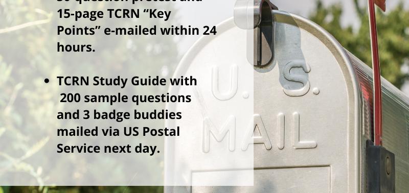 TCRN Study Guide (Hard Copy)
