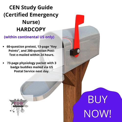 CEN Study Guide (Hard Copy)