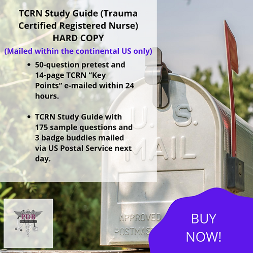TCRN Study Guide (Hard Copy)