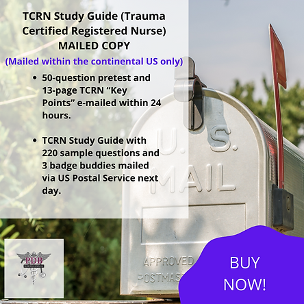 TCRN ® Study Guide (Mailed Copy)