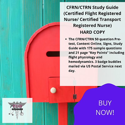CFRN/CTRN Study Guide (HARD COPY)