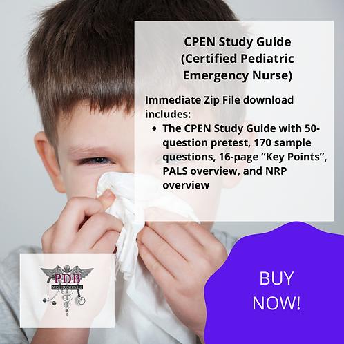 CPEN Study Guide (DOWNLOAD IMMEDIATELY)