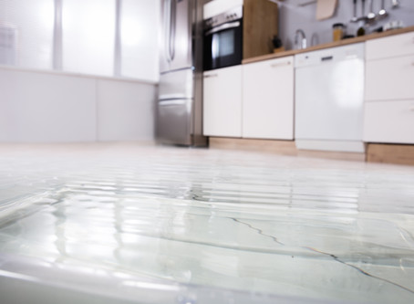 4 STEPS ONCE YOU FIND A FLOOD