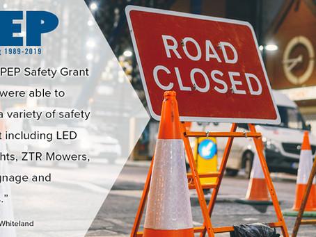 Town of New Whiteland - 2019 Safety Grant Recipient Testimonial
