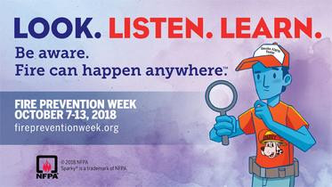 OCTOBER 7TH - 13TH NATIONAL FIRE PREVENTION WEEK