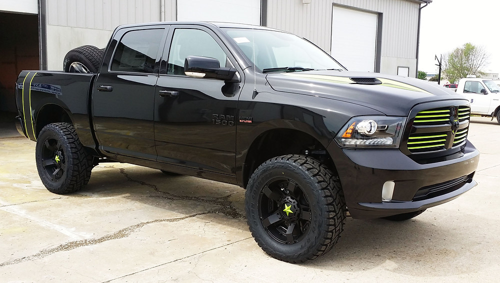 Firewire Performance & Offroad Dodge Ram 1500 Build