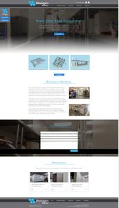 Biologics Modular Website