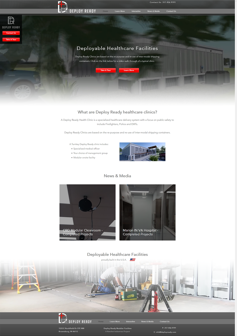 Deploy Ready Website