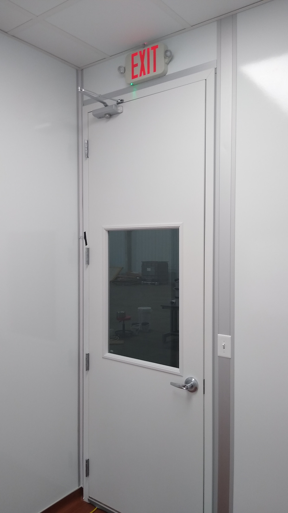 Applied Composites - Completed Projects - Exit Door Interior