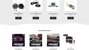 Firewire LEDs Website Redesign