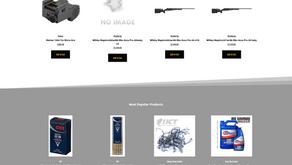 Honey Creek Tackle Website Redesign