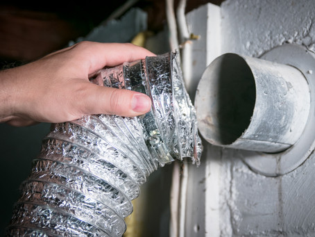 Clean Your Dryer Vents to Prevent Lint Build Up