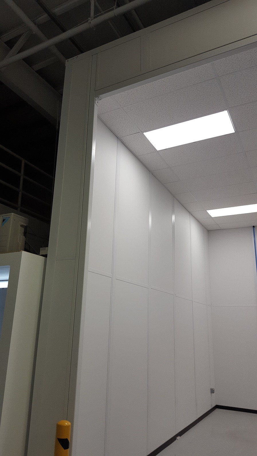 Applied Composites - Completed Projects - Left Wall