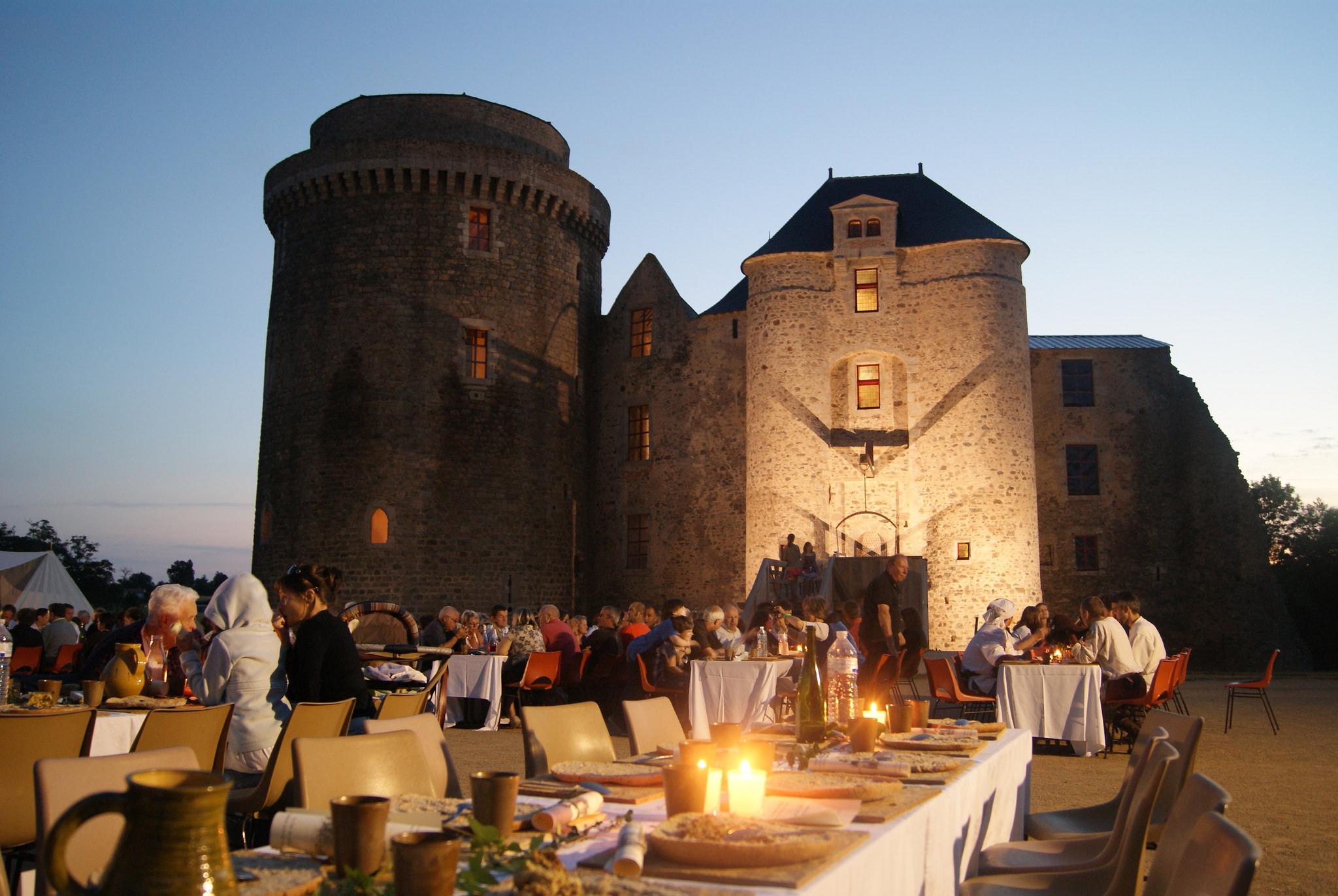 Banquet au Château de St-Mesmin