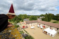 Du haut du Château de St-Mesmin