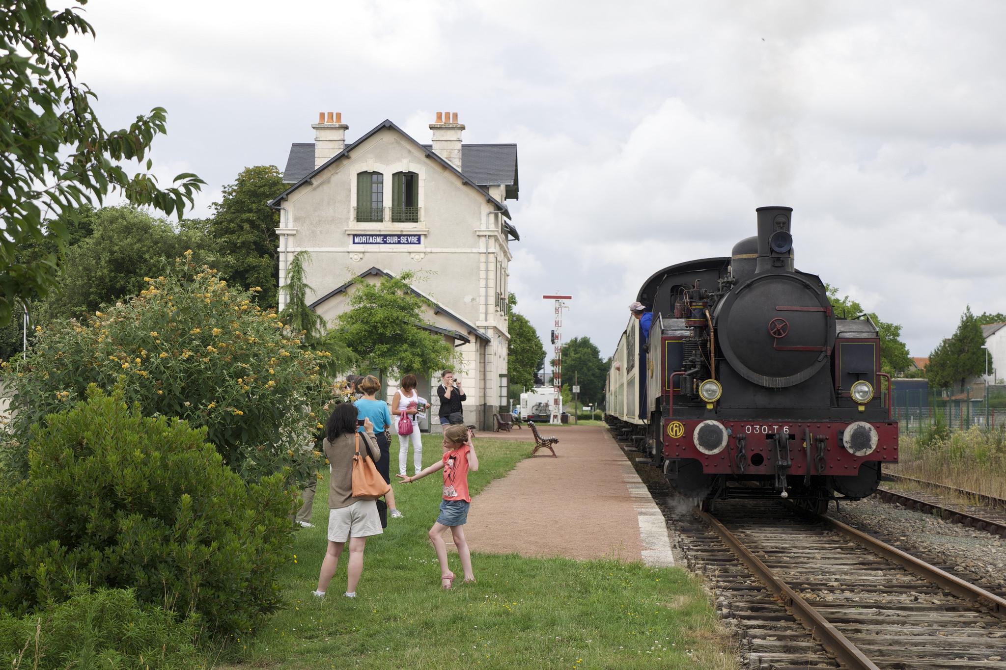 Chemin de fer de Vendée à Mortagne