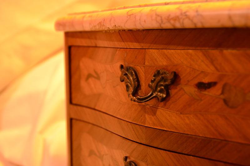 Les meubles racontent un passé...