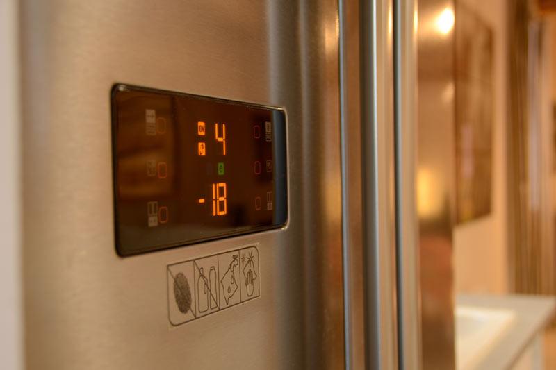 le grand réfrigérateur du gîte