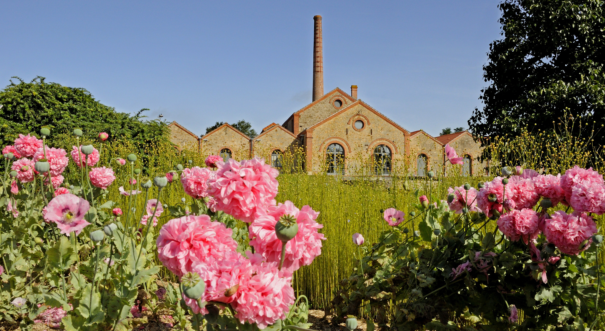 Le superbe Musée du textile à Cholet