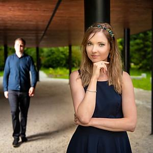 Sesja narzeczeńska Justyna i Adrian