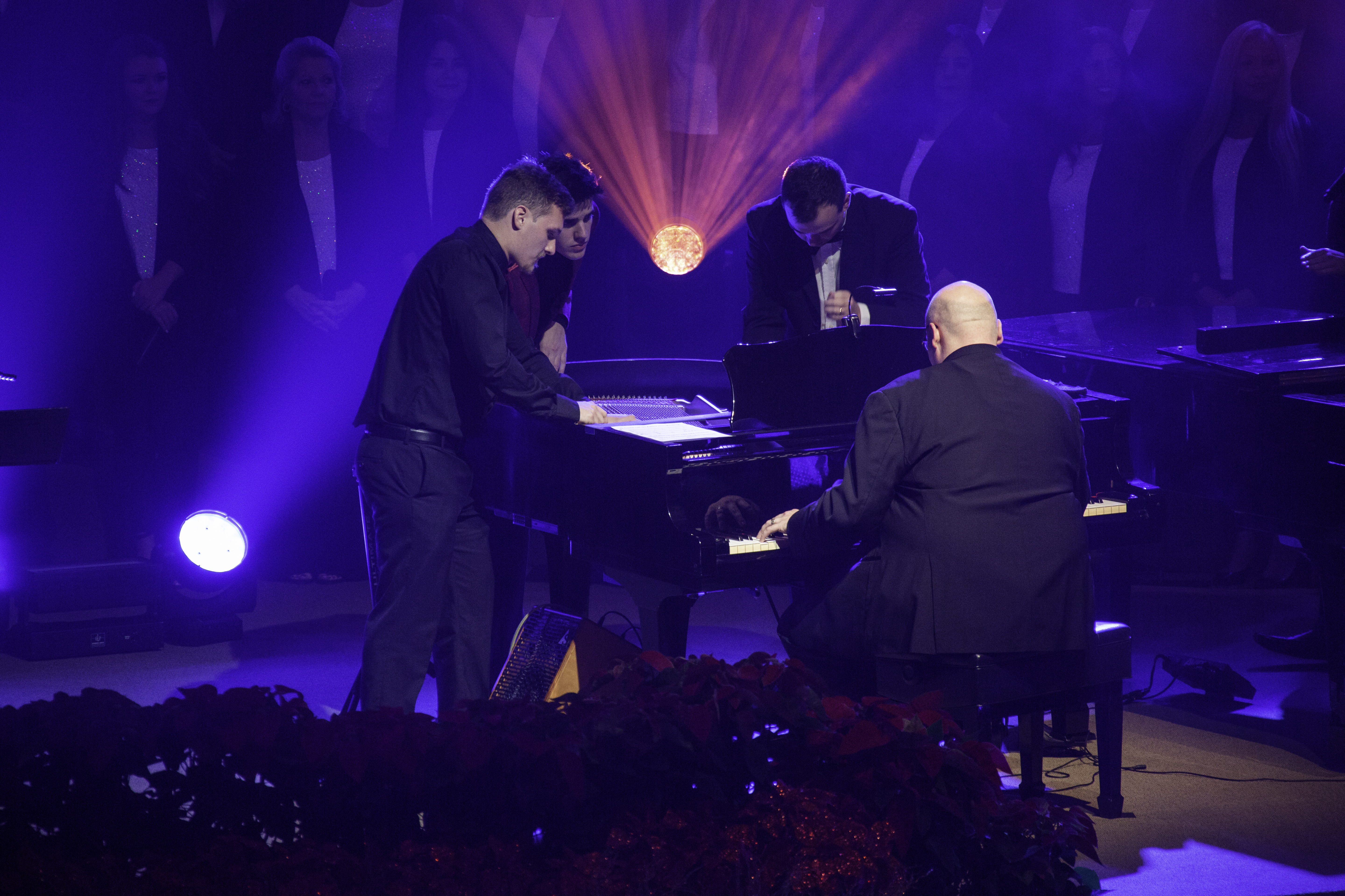 Performing at the Keyboard Festivel