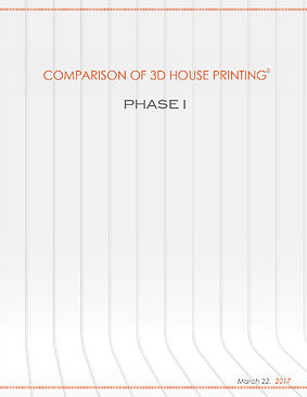 3D Construction Printing Comparison