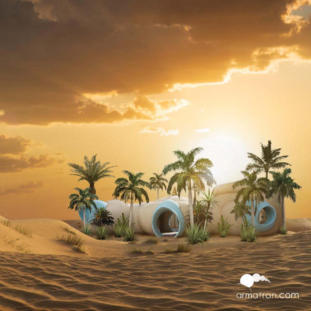 Armatron Systems Desert 3D Structure